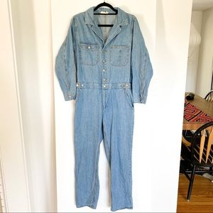 Denim Jumpsuit - Perfect For Fall!